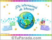 Tarjetas día internacional de Internet