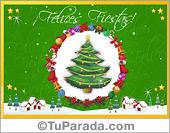 Tarjetas navideñas tradicionales