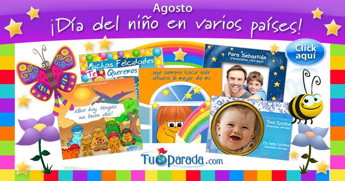 Tarjetas De Invitación Para El Dia Del Niño Imagui