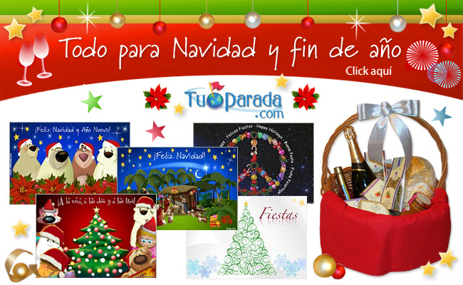 Tarjetas tu parada de navidad y ano nuevo