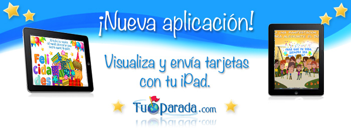 Tarjetas para iPad