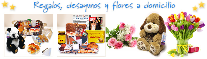 Regalos, flores y desayunos