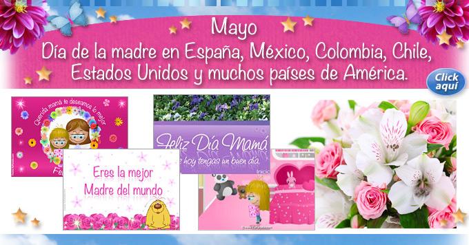 Dia de la madre en muchos países