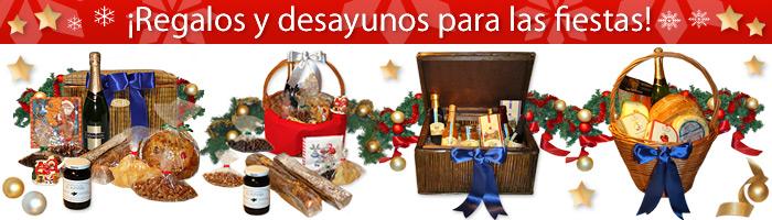 Regalos y canastas de Navidad