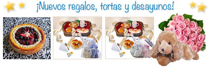 Regalos, tortas y desayunos