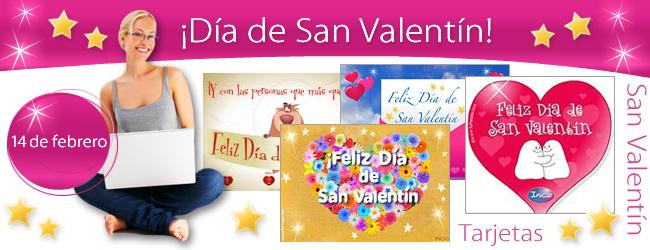 Tarjetas para San Valentín