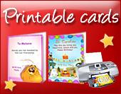 Printable ecards