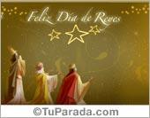 Tarjetas para Reyes