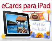 eCards para iPad y iPhone