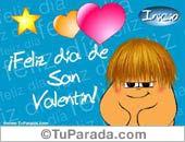 Postal animada de San Valentín