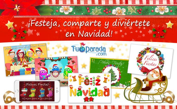 Tarjetas virtuales de felices fiestas para enviar por - Tarjetas de navidad para enviar ...