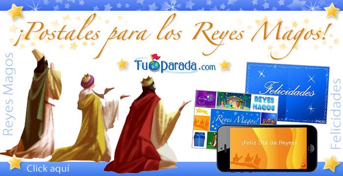 Tarjetas para los Reyes Magos