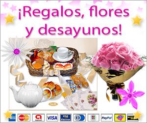 Regalos, flores y desayunos