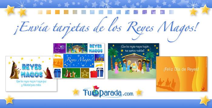 Tarjetas de Reyes