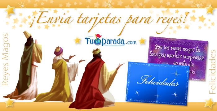 Postales de Reyes Magos