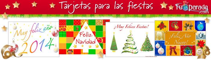 Tarjetas de Felices Fiestas