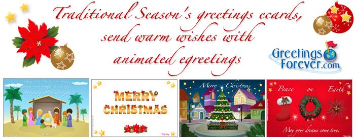 Season's greetings eCards