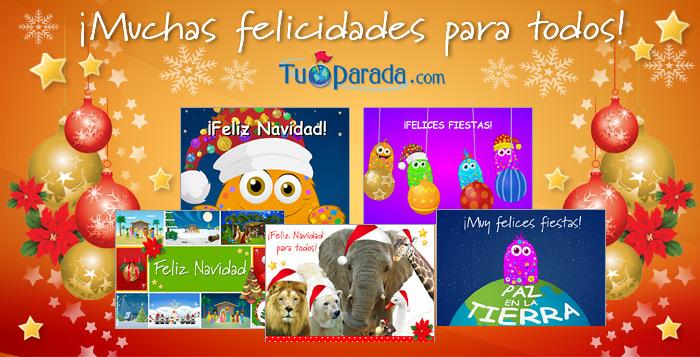 www tuparada com tarjetas navidad: