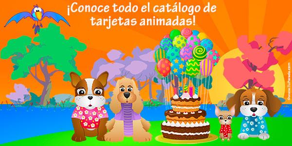 Catálogo de tarjetas animadas