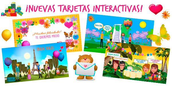 Crea tarjetas interactivas