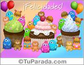 Secciones de cumpleaños para todos