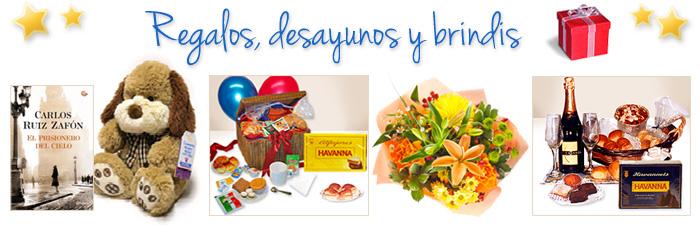 Regalos, desayunos y flores