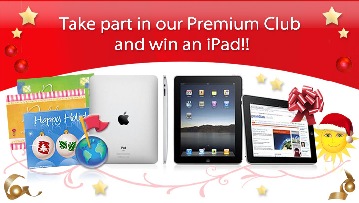 Win an iPad GreetingsForever.com