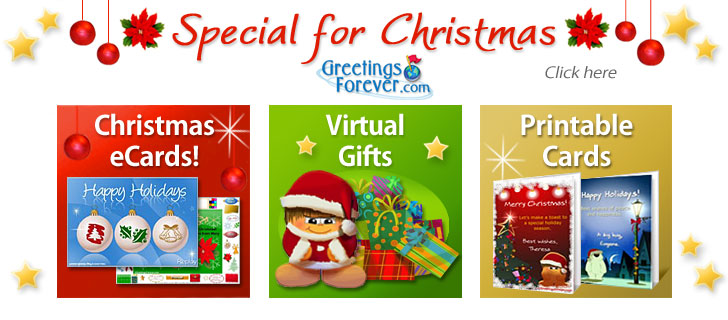 Christmas eCards Greeting cards