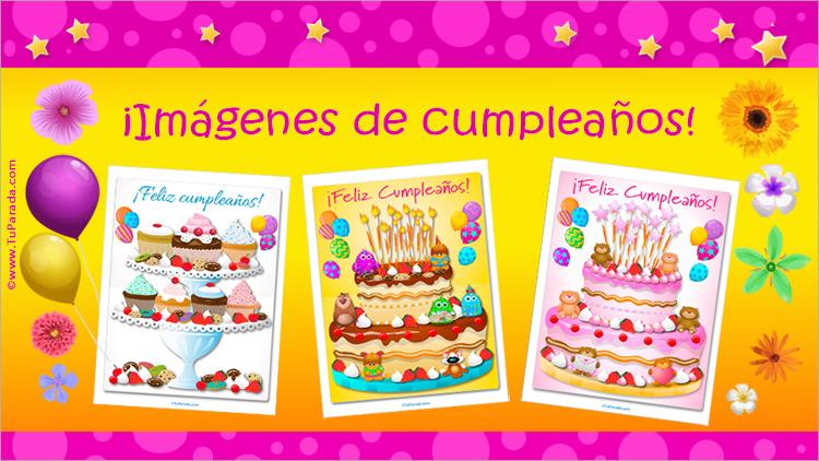Imágenes de tarjetas de cumpleaños