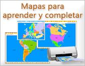 Mapas con división política