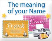Meaning of the names