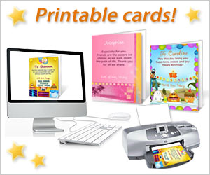 Printable cards