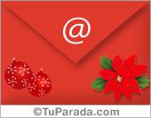 Una tarjeta de felicidades