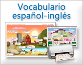 Vocabulario español - inglés
